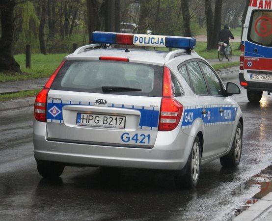 Policja Piotrków Trybunalski: Tragiczny wypadek na DK 12